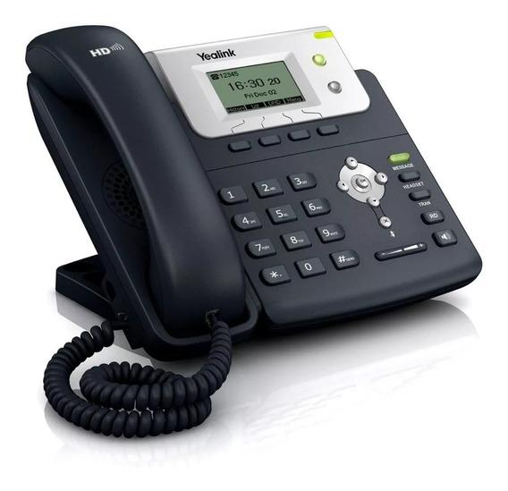 Telefono Ip Sip Marca Yealink Tp21 E2 Incluye Fuente