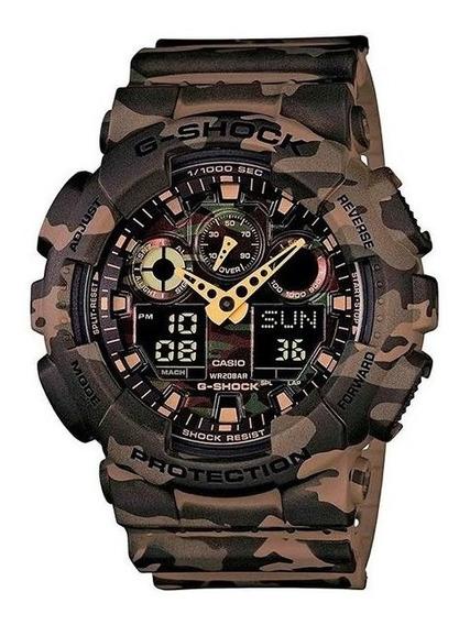 Relógio Casio G-shock Masculino Ga100cm5adr