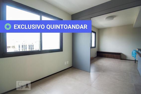 Apartamento No 10º Andar Com 1 Dormitório E 1 Garagem - Id: 892985050 - 285050