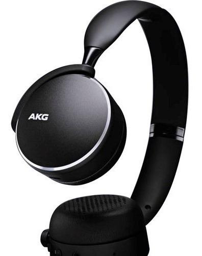 Fone Estéreo Samsung Bluetooth On Ear Akg Y500 Preto