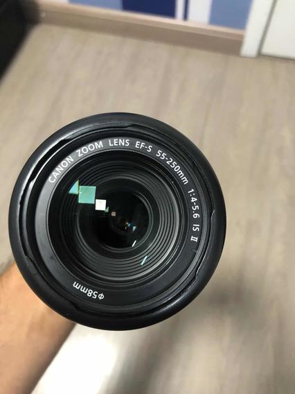 Lente Canon 55-250mm - Sem Uso Fiz Upgrade