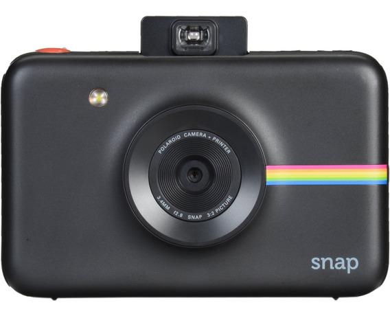 Câmera Digital Instantanea Polaroid Snap Env Hj Preta Nfe
