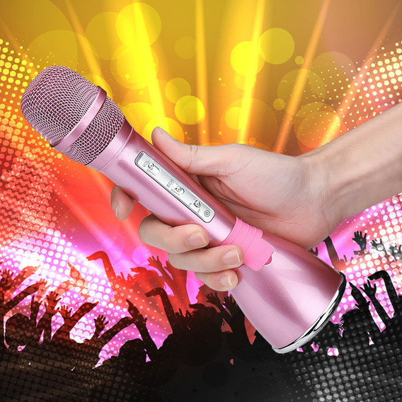 K068 Sem Fio Bluetooth Handheld Ktv Karaoke Microfone Microf