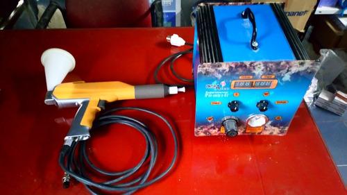 Maquina De Pintura Electroestatica Z-03 De Lavoratorio