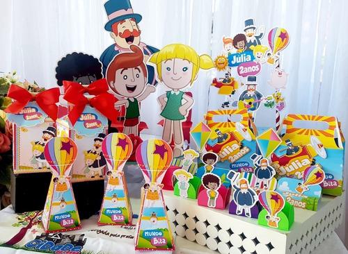 Kit Festa Em Casa C/ Display Mundo Bita