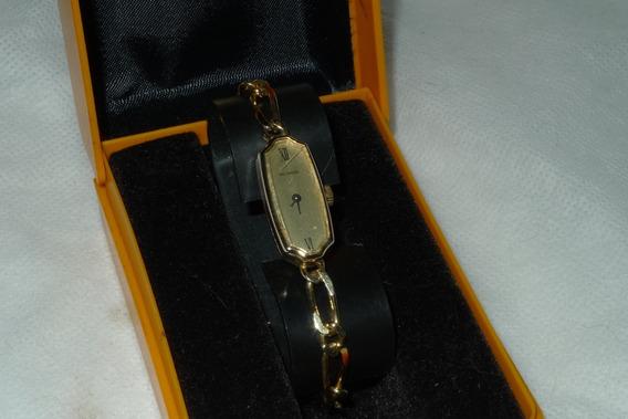 Relógio Technos Folheado Ouro Raro A Corda Antigo Feminino