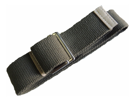 Cinturon Tactico Soga Tela Ancho Simil 5.11 Grande Especial