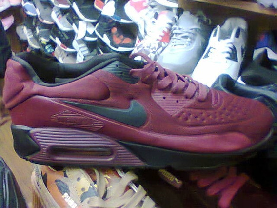 Air Max 90 Ultra Se Vinho Sapatos Tênis com o Melhores