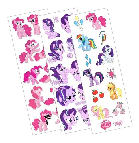Plancha De Stickers De My Little Pony