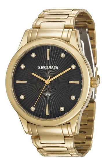 Relógio Seculus Feminino Visor Texturizado 23606lpsvds1