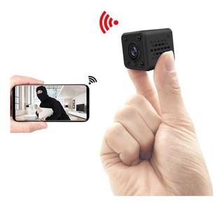 Camara Espia Mini Wifi P2p Ip Fullhd 2k Max 128gb App Vision Nocturna H7 Sony Seguridad 24/7 De Gogo Electronics