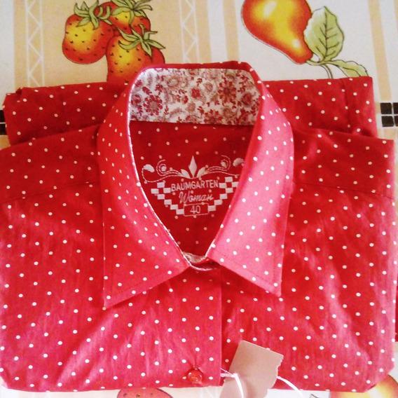 Camisa Feminina De Marca, Baumgarten.