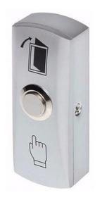 Botão Com Moldura Saída Inox Intelbras Bt 3000