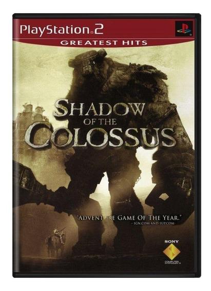 Shadow Of The Colossus Ps2 Mídia Física Pronta Entrega