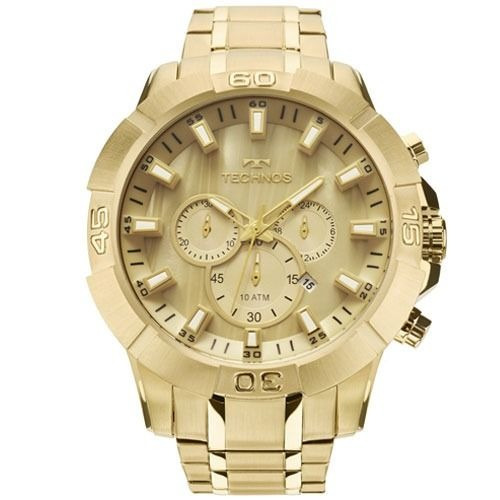 Relógio Masculino Technos Classic Legacy Dourado Js26ae/4x
