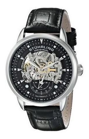 Reloj Stuhrling Original Executive Automatic Skeleton Hombre