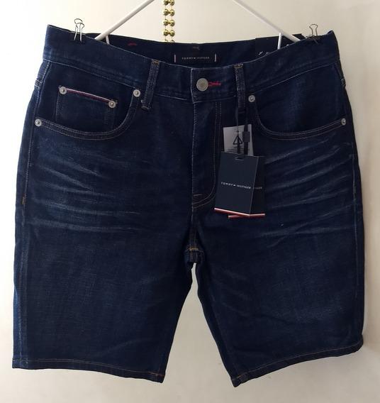 Bermudas De Jeans Tommy Hilfiger Originales Talla 31