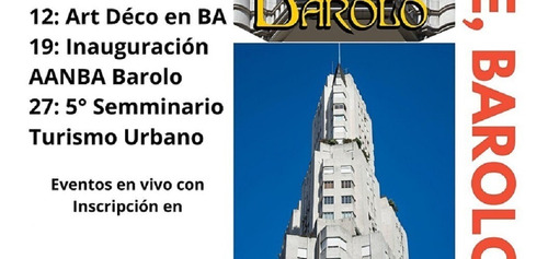 Vivo Charla Art Deco Buenos Aires, Con Ivan Malesani Y Fotos
