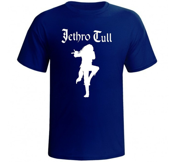 Camisa Jethro Tull Banda Rock Camiseta Cantor