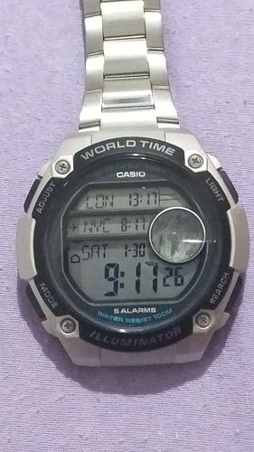 Relógio Casio World Time 40mm