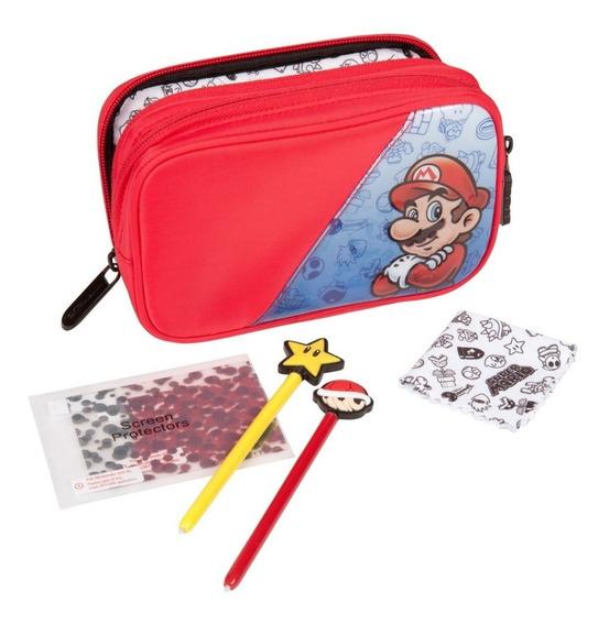 Nintendo Super Mario Starter Kit 5 En 1 3ds + Envío Gratis