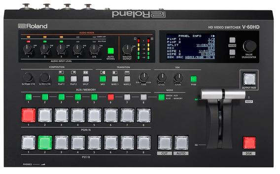 Mixer De Video Roland V 60 Hd Switcher Multi Format Hd Video