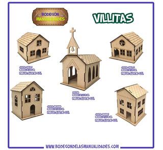 Villa Navideña Decorativa