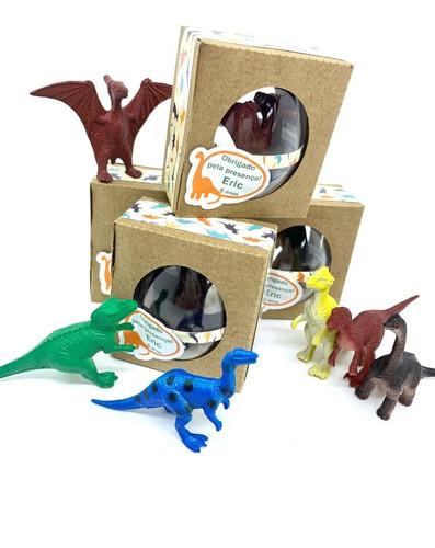 Imagem 1 de 3 de Kit Lembrancinha Dinossauro No Ovinho - 10 Caixinhas