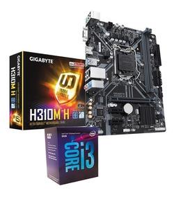 Kit 8ª Geração Gigabyte H310m-h + Processador Core I3-8100