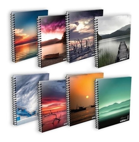 Cuaderno Universitario América X10 Unidades