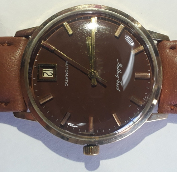 Reloj Mathey Tissot Automatic 10k Gold Filled Vintage