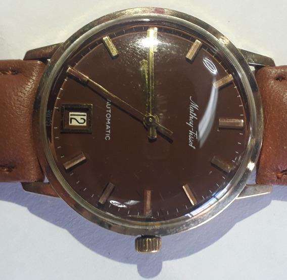 Reloj Mathey Tissot Automatic 10k Gold Filled Vintage