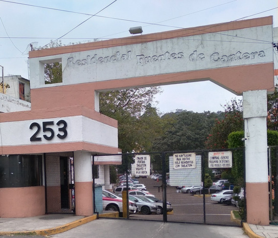 Residencial Fuentes De Cantera Tlalpan Departamento En Renta