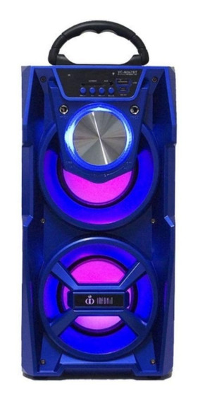 Caixa de som Infokit VC-M867BT portátil sem fio Azul 110V/220V