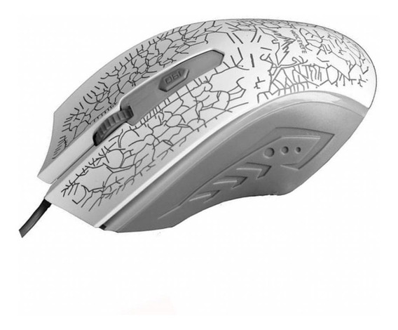 Mouse Optico Gamer Havit Ms 736 Retroiluminado 1200dpi White