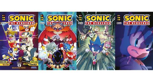 Imagen 1 de 5 de Sonic The Hedgehog Pack 4 Tomos (13-14-15-16)