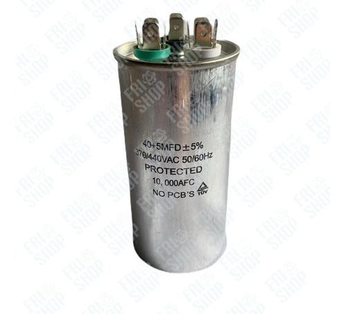 Capacitor 40 Uf + 5 Uf  Capacitor Dual 40+5 Frioshopvzla
