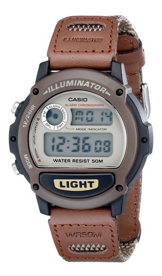 Relógio Casio Illuminator W-89hb-5avcb Original