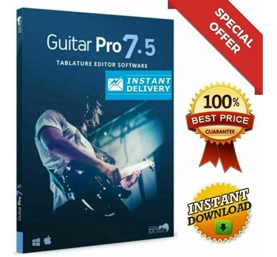 Guitar Pro 7.5 Ativado + Soundbanks