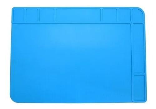 Imagem 1 de 2 de Manta Tapete Antiestática Sili Azul Klte-508 Exbom 480x340mm