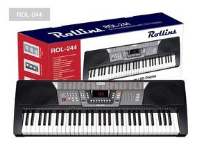 Piano - Teclado Marca Rollins - Rol-244