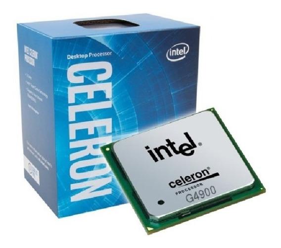 Processador Intel Celeron G4900 Lga 1151 3.1ghz 8ª Geração Devoluçao Dual Core - P/gamer Casa E Escritorio 4k