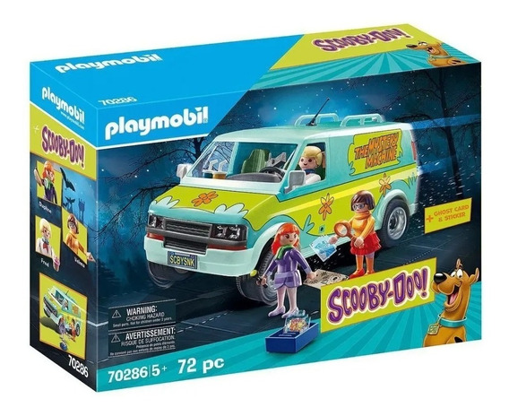 Playmobil Scooby Doo Máquina De Mistérios Mystery Machine