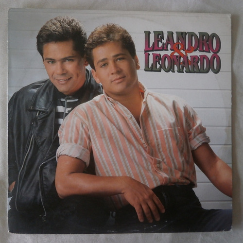 Lp Leandro E Leonardo 1992 Temporal De Amor Disco De Vinil Mercado Livre