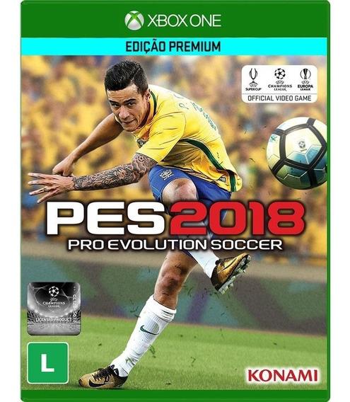 Pes 2018 Pro Evolution Soccer 2018 Xbox One Midia Fisica Nf