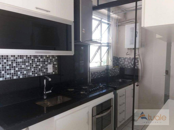 Apartamento Com 3 Dormitórios À Venda, 70 M² Por R$ 310.000,00 - Parque Villa Flores - Sumaré/sp - Ap7047