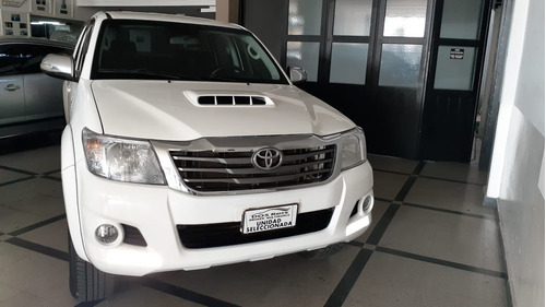 Toyota Hilux 3.0 Cd Srv Cuero 4x4 5at 2015 1°dueño Impecable