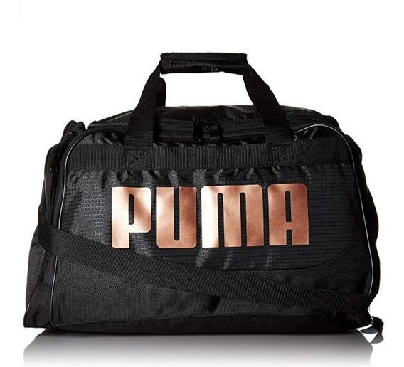 Maleta Puma Deportiva Mujer Gimnasio Gym Original Para Ropa Y Accesorios De Entrenamiento Viaje