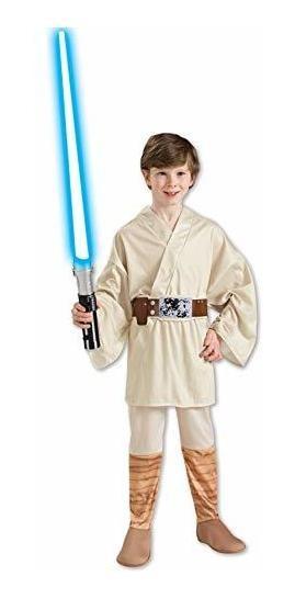 Traje De Niños De Luke Skywalker. M Beige
