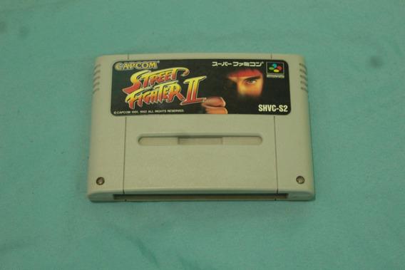 Jogo Street Fighter 2 Original Super Nintendo Jpn Snes Cod-0